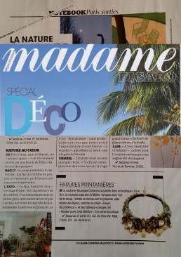Article Figaro Madame Avril 2015