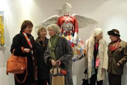 Exposition-installation Galerie Marie-Christine Janos - Vernissage - 2012