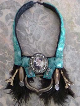 Parure collier mondaine style 1900