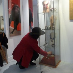 Exposition Viva el toro, Galerie Caroline Corre, Paris, juin/juillet 2011